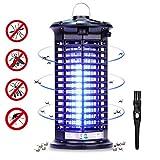 Yizhet Lámpara Antimosquitos, 4W UV Lámpara Mosquito Electrico, Lampara Antimosquitos Interior...