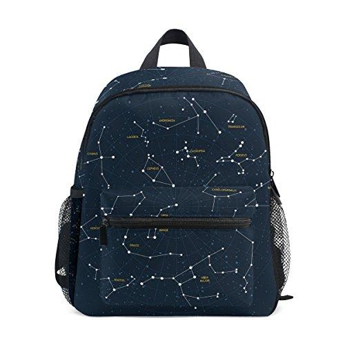 COOSUN Sky Kaart en sterrenbeelden Mini Kids Rugzak Pre-School Kleuterschool Peuter Tas