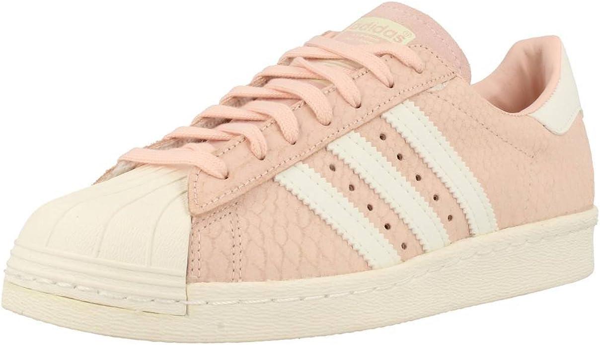 Baskets Adidas Superstar 80s Rose Poudre Femme 40 : Amazon.fr ...