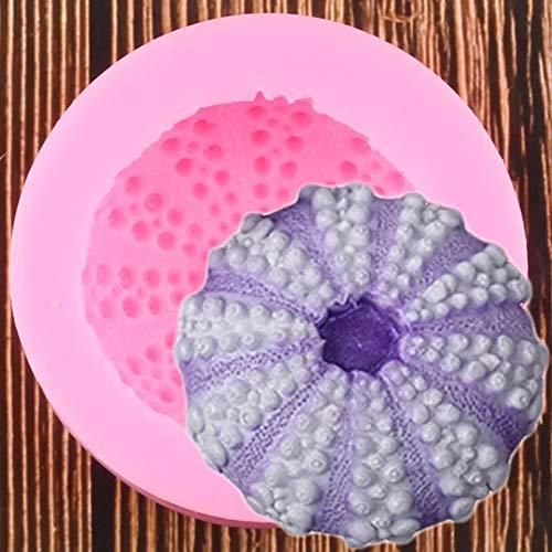 CSCZL Oursin de mer Silicone moule résine Argile moule Fondant gâteau décoration outils Chocolat bonbons moules bricolage cuisson moules