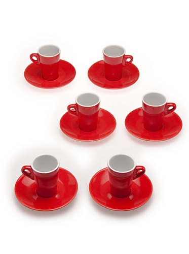 Taza Nescafe Roja