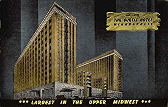 The Curtis Hotel Minneapolis, Minnesota Original Vintage Postcard