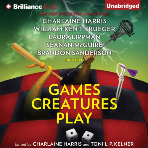 Games Creatures Play audiobook cover art