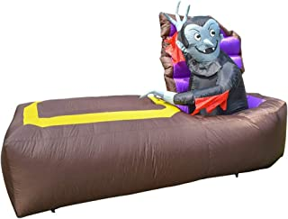 ALEKO HLID051 Halloween Inflatable Dracula Awakes from His Coffin - 5 Foot