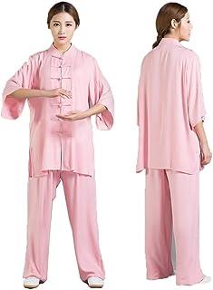 fwadu Tai Chi mundurek kobiety mężczyźni przytulne ubrania tai chi skrzydło chun odzież shaolin KungFu ubrania bawełniane ...