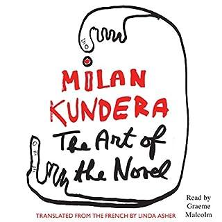 The Art of the Novel audiobook cover art