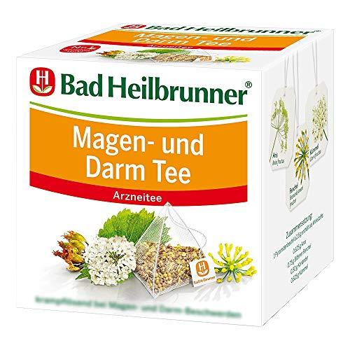 Bad HEILBRUNNER Magen- und Darm Tee, Pyramidenbeutel, 1er Pack