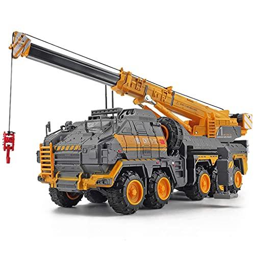 1: 120 Modelo de auto Maquinaria de construcción Modelo de maquinaria de Wandering Earth Engineering Vehículo Modelo Modelo de camión Modelo de Coche Modelo Coleccionable Ornamentos Juguetes para niño 🔥