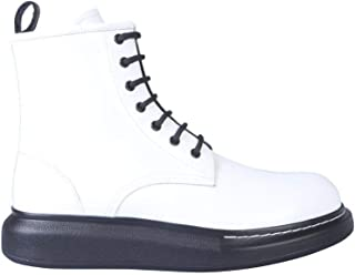 ALEXANDER MCQUEEN Luxury Fashion Mens 586191WHX519061O White Ankle Boots | Season Permanent