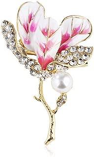 Mode plaqué or étoile de mer Strass Cristal Bouquet Broche Pin Bijoux Cadeau