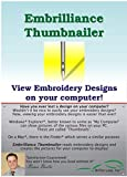 Embrilliance Thumbnailer, Embroidery Software for Mac & PC