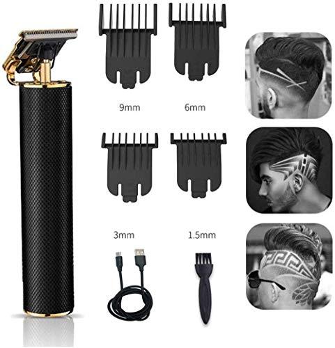 ÉDM Haarschnittschneider Elektrischer Haarschneider Detailschneider Haarkombination Haarschneider USB Wiederaufladbarer Akku-Friseursalon T-Blade Trimmer
