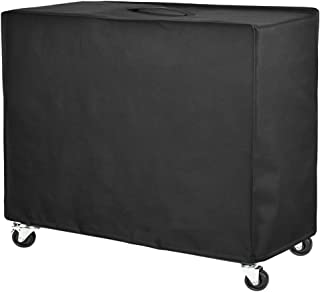 Patio Watcher Patio Ice Chest Cover Heavy Duty Waterproof Cooler Cart Cover,Black