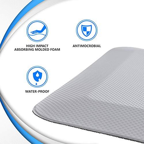 NYOrtho BedsideFoldable FloorMatsfor Elderly– Handicap Non-Slip Beveled Edge Fall Protection Fallshield