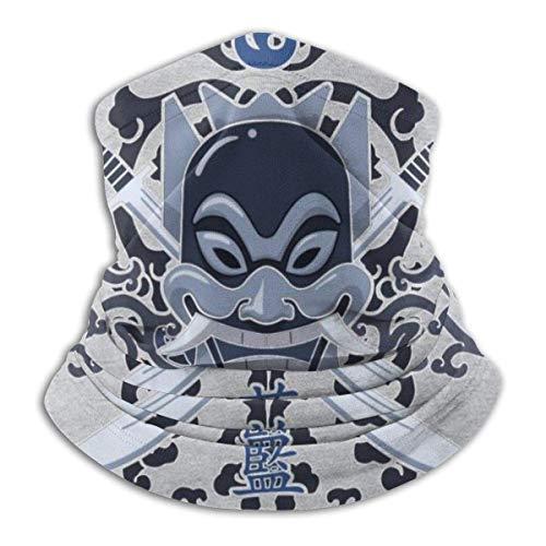 SfeatrutMAT Avatar Last Airbender Blue Spirit Face Ma-Sk Bandanas für Staub,...