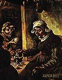 Los Comedores de Patatas Agenda Annual 2021: Vincent van Gogh | Planificador Semanal | Pintor Holandés | 52 Semanas Enero a Diciembre 2021 | Post Impresionismo