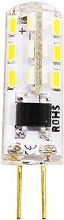 Bombillas LED G4 de 1,5 W equivalentes a bombillas halógenas de 15 W, CA 220 V, ángulo de haz de 360°, luz blanca fría 6000 K, intensidad no regulable, G4, 1 unidad
