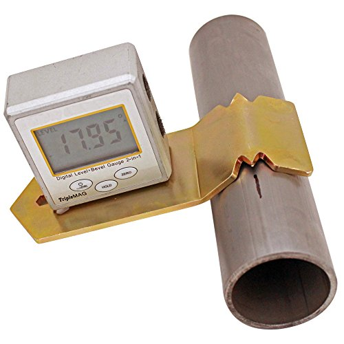 Tube Rotation Gauge Bracket - Universal - Magnetic Angle Finder/Transfer Mount