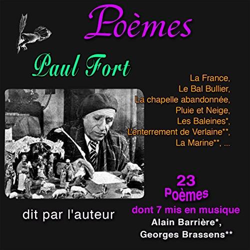 Couverture de Poèmes. Paul Fort - 23 Poèmes, dont sept mis en chansons
