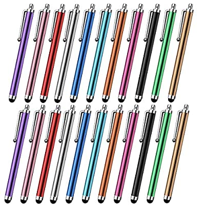 Syolee Tool 22 Pcs Stylus Pen Universal Touch Screen Capacitive Stylus for Phone Pad Tablet