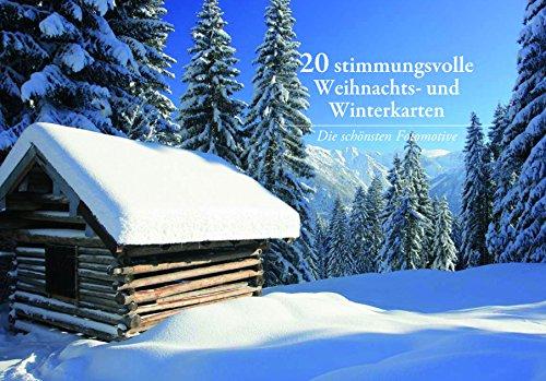 20 20 Stimmungsvolle Weihnachts- und Winterkarten
