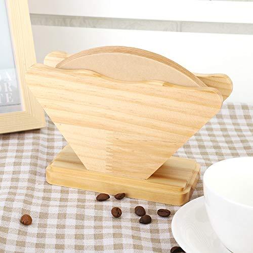 Filtros de café cónicos, filtros de café en forma de cono, filtros de café de papel Filtro de café cónico Tienda para el hogar Cafeterías Restaurante