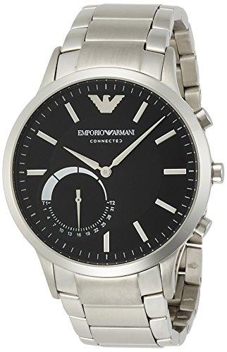 [エンポリオアルマーニ] EMPORIO ARMANI CONNECTED 腕時計 RENATO ハイブリッドスマートウォッチ ART3000 正規輸入品