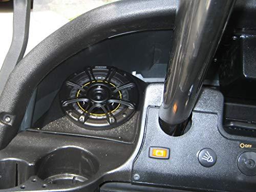 Club Car Precedent 5-1/4' Speaker Pods Golf Cart (Speaker Pods and Radio Mount)