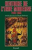 Histoire de l'Inde moderne: (1480-1950)