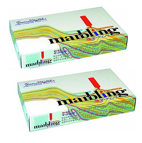 Bokuundo Marbling Kit, Pack of 2 (Japan Import)
