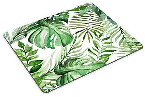 Smooffly Wild Leaf Mouse pad, Leaves Mouse pad, Office Supplies, Gift for Friend, Desk Accessories Photo #6