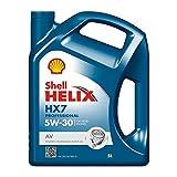 Shell Helix HX7 Professional AV 5W30 Huile Moteur, 5L