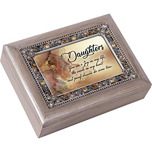 Cottage Garden Daughter You are a Joy Brushed Pewter Jewelry...