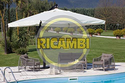I Giardini Del Re RICAMBIO STECCA MM.20X30 - 92 CM PER OMBRELLONE DECENTRATO ALU