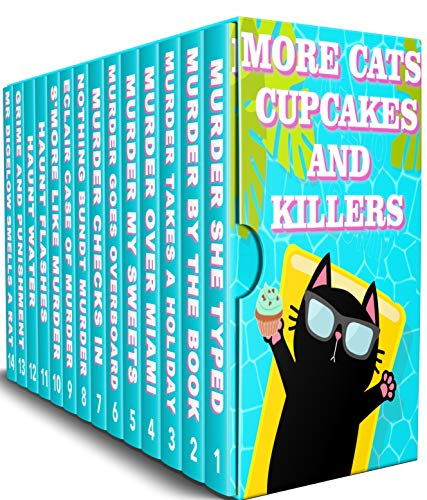 14-in-1 BOXED SET ALERT! All the cozy mysteries you need for a whodunit weekend: More Cats, Cupcakes and Killers by Sylvia Selfman and Leigh Selfman