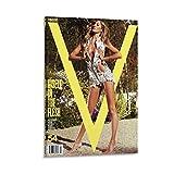 QWKM Modell-Poster Gisele Bundchen V Magazin, Fashion