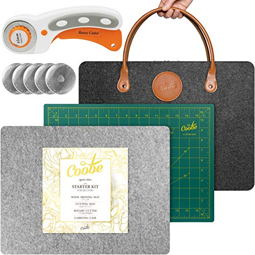 "Starter Kit 17"" X 13"" Wool Pressing Mat for Quilting 
