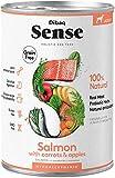 Dibaq Sense Grain Free Salmón. Comida húmeda para perros. 100% natural....