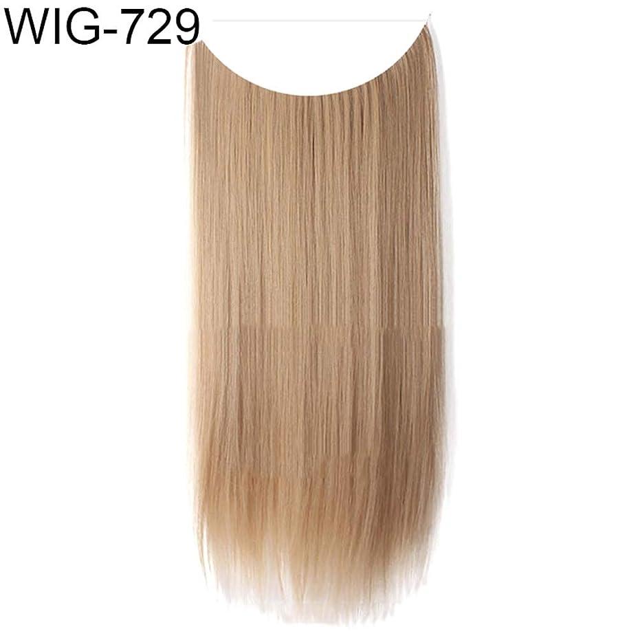 交響曲玉輸血slQinjiansav女性ウィッグ修理ツール女性高温繊維長いストレートカーリーウィッグヘアエクステンションヘアピース