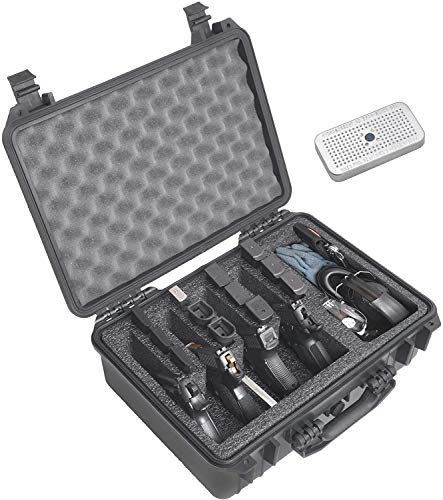 Case Club 4 Pistol Heavy Duty Waterproof Case