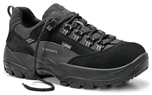 Elten LOWA COLORADO WORK GTX Lo S3 5941 Herren Sicherheitsschuhe, Schwarz/Anthrazit, EU 46