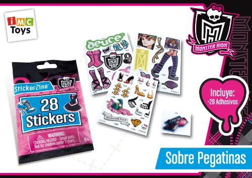 Monster High - 3230611 - Loisir Créatif - Recharges Stickers