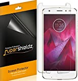 Supershieldz (6 Pack) for Motorola (Moto Z2 Force Edition) and Moto Z Force Edition (2nd Gen) Screen Protector, High Definition Clear Shield (PET)