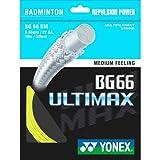 YONEX Ultimax BG66 Cordaje de Bádminton Individual