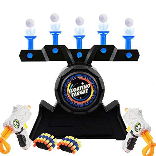 Herefun Ziel Spielzeug, Schwimmendes Ziel Spiel, Elektrische Ziel Kinderspielzeug, Zielscheibe Schießspiele Toy, Elektro-Schießscheiben Zielschießen, Luftschuss Shooting Floating Target (Blau)