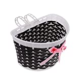 lecimo Children Kids Girls Boys Bike Front Bicycle Cycle Shopping Basket For Bikes Gift