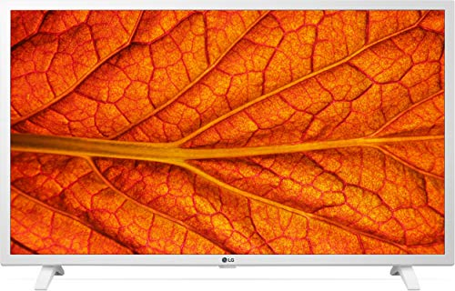 LG - Televisión LG 2K 6380PLC 32' (80 cm), Smart TV, AI ThinQ, HDR, Procesador QuadCore, Sonido Virtual Surround Plus, Blanco