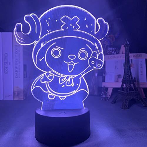 Personaje del juego Lámpara de mesa 3D creativa Luz de noche LED...