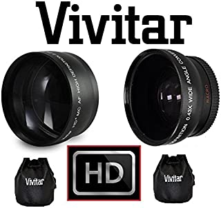 49mm Lens. VFA-49R1 Adapter Not Included Hi Def Pro 2.2X Telephoto Lens for Sony DSC-RX100 DSC-RX100M2 DSC-RX100 II