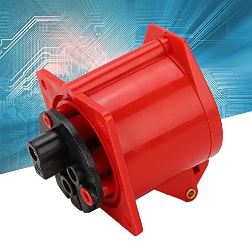 Zócalo trifásico de 32A, zócalo industrial del enchufe del diseño IP44 anti-caída para la industria para la industria